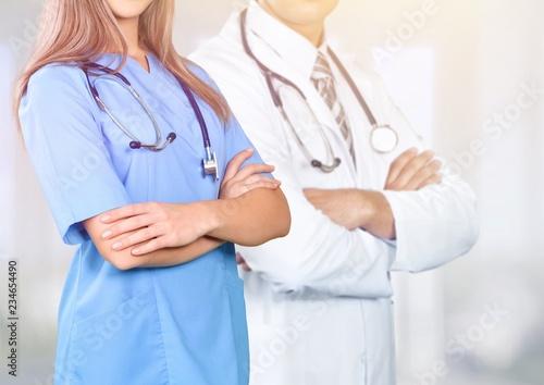Leinwanddruck Bild Doctor.