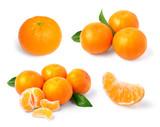 Mandarin, tangerine citrus fruit
