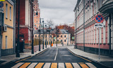 old street in the Moscow © михаил кузнецов