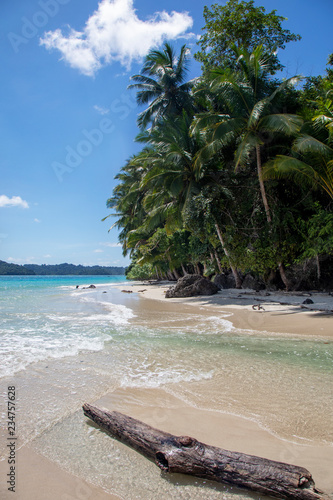 Beach in Coibita Island, Panama