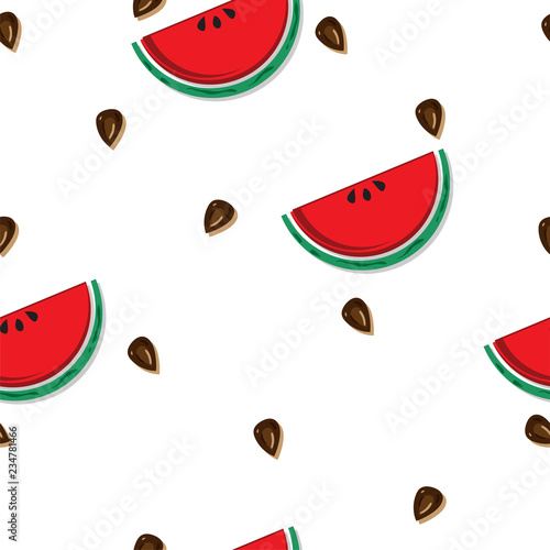 fruit pattern background graphic watermelon - 234781466