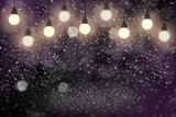 pink nice shiny glitter lights defocused light bulbs bokeh abstract background with sparks fly, holiday mockup texture with blank space for your content
