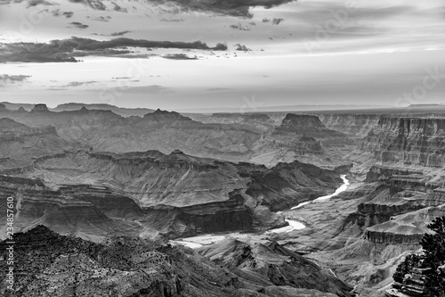 fototapeta na ścianę Sunset at the Grand Canyon seen from Desert View Point