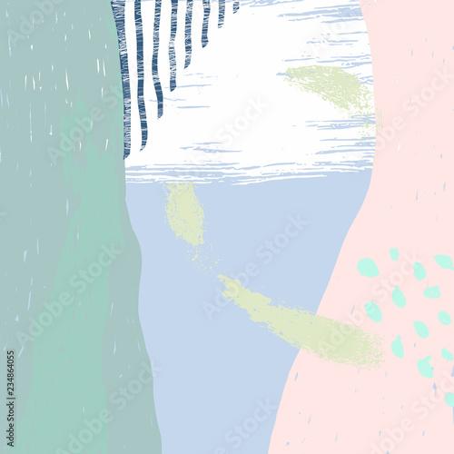 18-naive-abstract-vector-illustration - 234864055