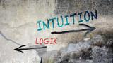 Schild 391 - Intuition