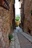 Fototapeta  - Streets of Spello in Umbria, Italy.  © konik60