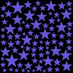 Christmas background blue stars