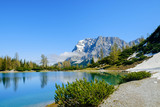 Bergsee mit Zugspitzblick