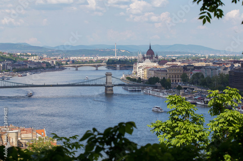 View on wonderful Budapest