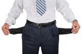 Businessman Showing Empty Pockets - 235017209