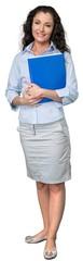 Portrait of a Confident Businesswoman / Secretary © BillionPhotos.com