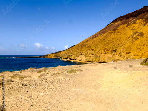 Landscape in Tropical Volcanic Canary Islands Spain - 235079094
