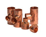 Copper pipe fittings - 235084032