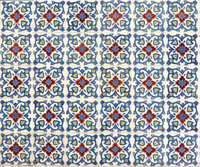 Peranakan tile mosaic