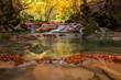 Source of Urederra river in Urbasa mountain range, Navarre, Spain