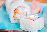 California maki sushi with tempura shrimp © Anna Maloverjan