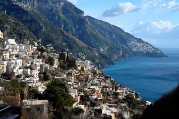 The beauty of the Amalfi coast in Italy © Giambattista