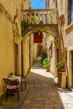 Alley in Korcula, Croatia © RnDmS