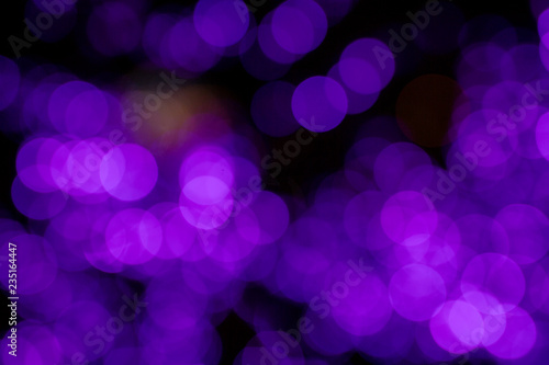 Christmas light bokeh background. - 235164447