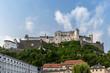 canvas print picture - Festung Hohensalzburg in Salzburg