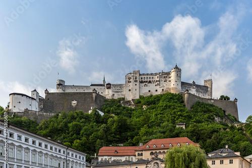 canvas print picture Festung Hohensalzburg in Salzburg