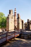 Qutub Minar monument mosque minaret complex