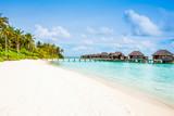 Overwater bungalow in the Indian Ocean - 235197600