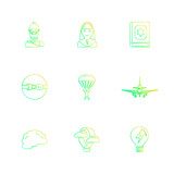 religion , networks , user interface , web , eps icons set vector