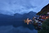 View of Hallstatt before dawn, Austria - 235245086