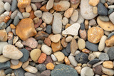 Stones and pebbles on beach