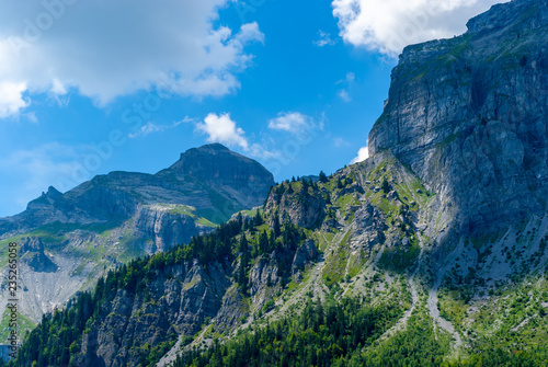 Mountains under a blue sky - 235265058