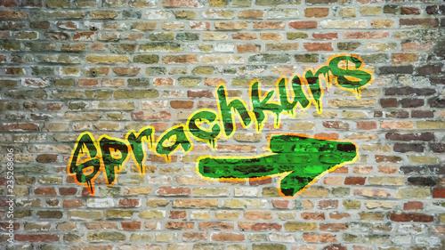 Schild 396 - Sprachkurs
