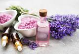 Lavender spa concept © almaje