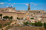 Toledo skyline in Castile La Mancha Spain - 235283838