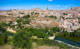 Toledo skyline in Castile La Mancha Spain - 235283849