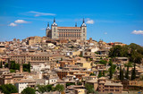 Toledo skyline in Castile La Mancha Spain - 235283855