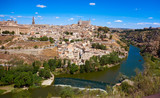 Toledo skyline in Castile La Mancha Spain - 235283882