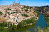 Toledo skyline in Castile La Mancha Spain - 235283892
