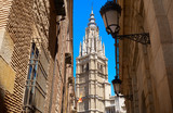 Toledo Cathedral in Castile La Mancha Spain - 235284206