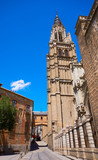 Toledo Cathedral in Castile La Mancha Spain - 235284286