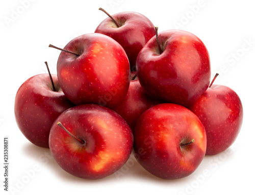 Leinwanddruck Bild red delicious apple