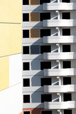 Unpopulated multi-storey residential building of brick - 235334810