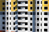 Unpopulated multi-storey residential building of brick - 235334812