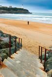 Plage, phare du Pays Basque © Charles LIMA