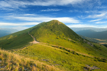 Bieszczady mountains - Poland, Tarnica hill