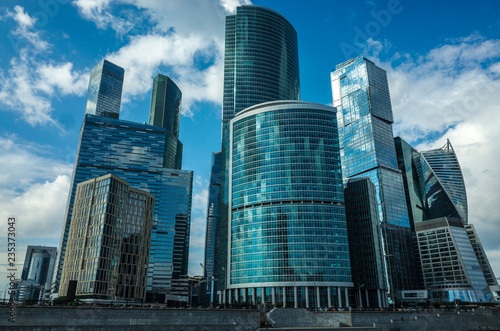 Building of the Trade and Financial Center Moscow-City, Moscow, Russia