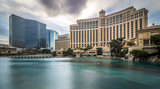 hotels and city skyline in las vegas nevada - 235402618