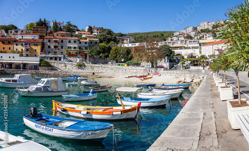 Hafen von Rabac, Kroatien