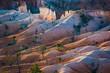 Leinwandbild Motiv beautiful landscape in Bryce Canyon with magnificent Stone formation