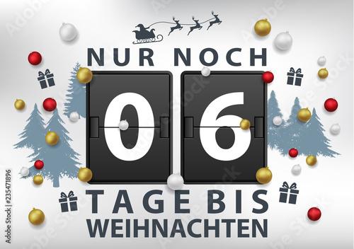 Noch x Tage bis Weihnachten